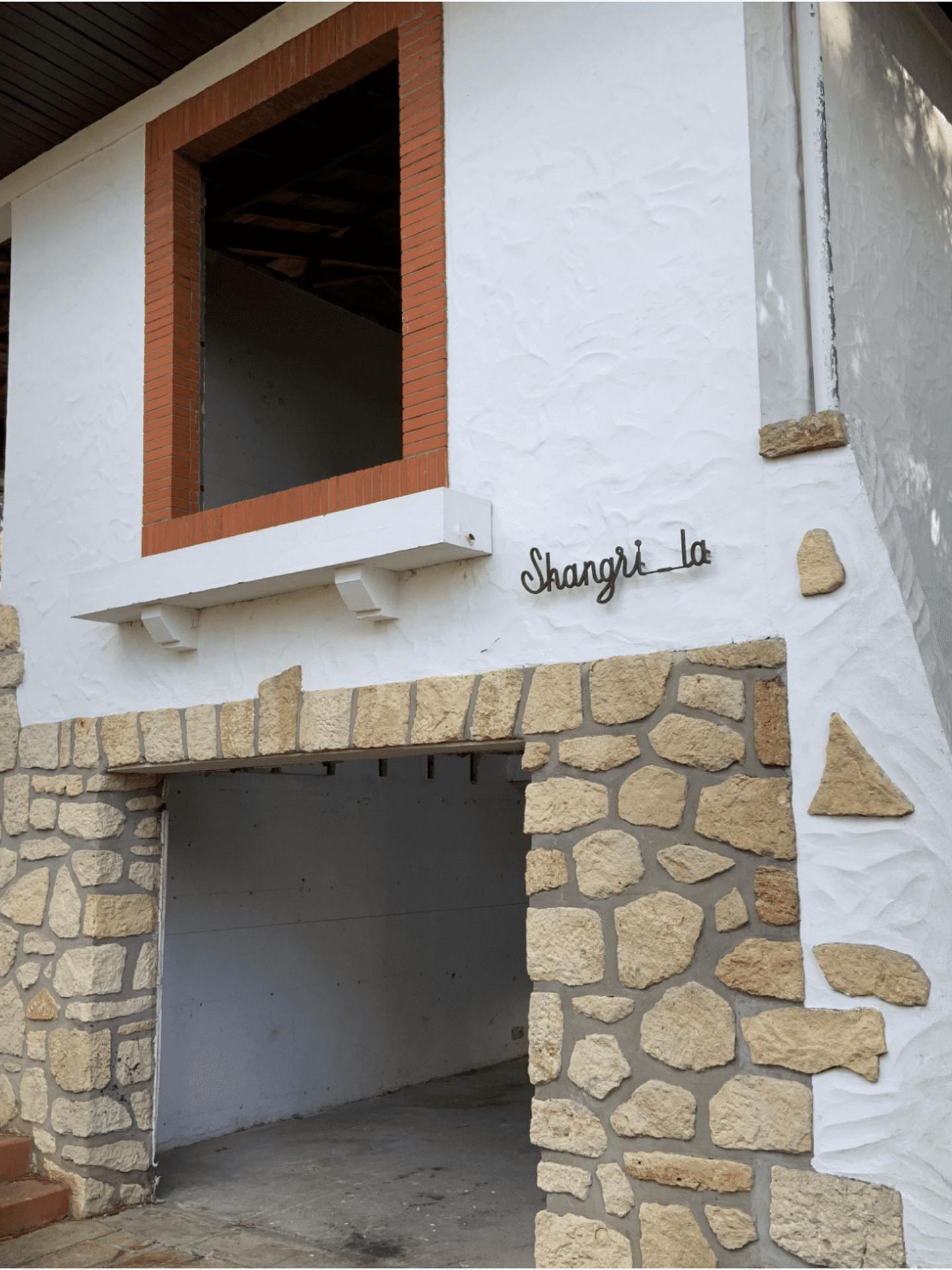 décapage de coque de façade à Biganos - bassin D'arcachon