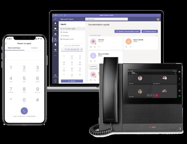 TeamsPhonie, solutions mobiles entreprise à Lyon Annecy et en région Rhône-Alpes